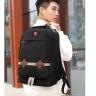 Ba lô du lịch thời trang Haras HR233 màu đen