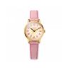 Đồng hồ nữ dây da Julius Hàn Quốc JA-856B hồng