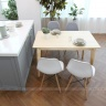 Bộ bàn ăn 4 ghế Ibie Morina nhiều màu