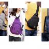 Combo balo cá tính Praza và túi đeo chéo tiện dụng unisex Praza - BL154DC111