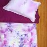 Bộ vỏ chăn ga gối lụa tencel tơ tằm Hàn Quốc Julia siêu mát mịn (bộ 5 món có vỏ chăn)-849BM18