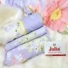 Bộ vỏ chăn ga gối lụa tencel tơ tằm Hàn Quốc Julia siêu mát mịn (bộ 5 món có vỏ chăn)-840BM18