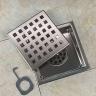 Phễu thoát sàn chống mùi hôi inox Zento ZT656 (110*110)