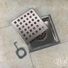 Thoát sàn chống mùi inox Square Zento ZT656-1L (110*110)