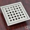Phễu thoát sàn chống mùi hôi inox Zento ZT656-2U (110x110)