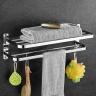 Giá để đồ kết hợp treo khăn inox Zento HA 4650
