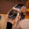 Đồng hồ nữ JA-1136 Julius Hàn Quốc dây da ( 2 màu)