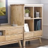 Tủ trưng bày nhỏ Ixora gỗ cao su - Cozino