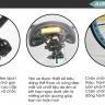 Xe đạp thể thao Fix Gear, tặng bộ dao và 40 thẻ 3D ekidar chủ đề hoa quả cho bé