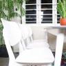 Bộ bàn ăn mặt gỗ Venus nhiều màu 6 ghế