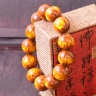 Vòng phong thủy gỗ hải liễu 18 ly - hợp mệnh Kim - Thủy - Mộc V204-18