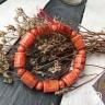 Vòng phong thủy - vòng phong thủy huyết long đốt trúc 12 ly V180-12