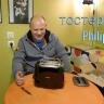Máy nướng bánh mì Philips HD2582 (Đen) - hàng nhập khẩu