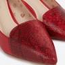 Giày cao gót da Pierre Cardin PCWFWSC089RED Màu đỏ - PCWFWSC089RED