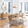 Bàn ăn Trocadero gỗ tự nhiên- Cozino
