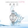 Đồng hồ nữ dây khóa nam châm chính hãng Julius Hàn Quốc JA-1143A (Bạc)