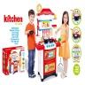 Bộ đồ chơi nấu bếp, bộ đồ chơi nhà bếp mô hình nhà bếp cao cấp cho bé ( màu đỏ)