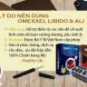 Combo 2 hộp viên uống tăng cường sinh lý và sức khỏe nam giới Omexxel Libido (60v) + tặng 10 viên Omexxel Ali