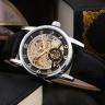 Đồng hồ nam cơ lộ máy dây da bò cao cấp 3 màu lựa chọn
