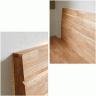 Giường đôi Poppy B gỗ cao su 1m6 - Cozino