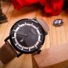 Đồng hồ nam JAH-103D Julius Hàn Quốc dây da (kem)