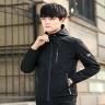 Áo Khoác dù nam có nón Hàn Quốc AKD010 - đen