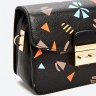 Túi hộp mini đen hình Venuco Madrid B155 đen hình