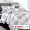 Drap Kymdan Serenity 160 x 200 cm (drap + áo gối nằm + vỏ mền) AMBER