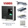 Hệ thống khóa cửa vân tay, thẻ VS008 – X8S