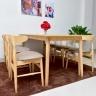 Bộ bàn ăn 6 ghế Suwon - IBIE
