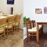 Bộ bàn ăn Ulsan 6 ghế nhiều màu