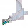 Mặt dây chuyền bạc mix đá PNJSilver Fantasia ZTXMK000135
