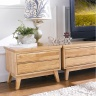 Tủ TV 5 ngăn kéo NB-Natural gỗ tự nhiên