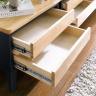 Tủ 2 ngăn kéo mini NB-Blue gỗ tự nhiên