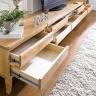 Tủ 2 ngăn kéo mini NB-Natural gỗ tự nhiên