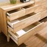 Tủ 4 ngăn kéo NB-Natural gỗ tự nhiên