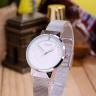 Đồng hồ nữ JA-1104A Julius Hàn Quốc dây thép (bạc)