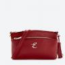 Túi xách shoulder da bò cao cấp hiệu Edison Michael mã 8011 màu đỏ