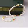 Opal  Set Vòng tay Ngọc Trai trắng Mẹ và Bé và đá nhiều màu_T6