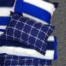 Bộ ga gối cotton sợi bông nhập khẩu Hàn Quốc Julia (bộ 4 món k chăn) 240BK16