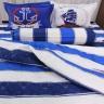 Bộ ga gối 4 món cotton Hàn Julia 215BK18