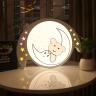 Đèn mâm ốp trần Led OP3M52- Đèn trang trí Homelight