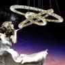 Đèn thả trần hiện đại - đèn thả led pha lê - LADY025