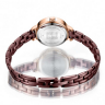 Đồng hồ nữ chính hãng Julius Hàn Quốc JA-1162E (nâu) mặt cắt ngôi sao tuyệt đẹp