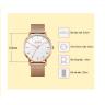 Đồng hồ nam dây kim loại chính hãng Julius Hàn Quốc JA-1164MC (đồng)
