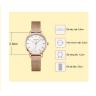 Đồng hồ cặp chính hãng Julius Hàn Quốc JA-1164C ( đồng )