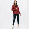 Áo khoác nữ đi mưa, chống thấm SéPA-ĐỎ ĐÔ