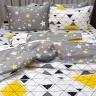 Bộ chăn ga gối 5 món cotton Hàn Julia 263BG18