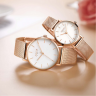 Đồng hồ nữ dây kim loại chính hãng Julius Hàn Quốc JA-1164LA bạc