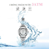 Đồng hồ nữ dây kim loại chính hãng Julius Hàn Quốc JA-1150A (bạc)